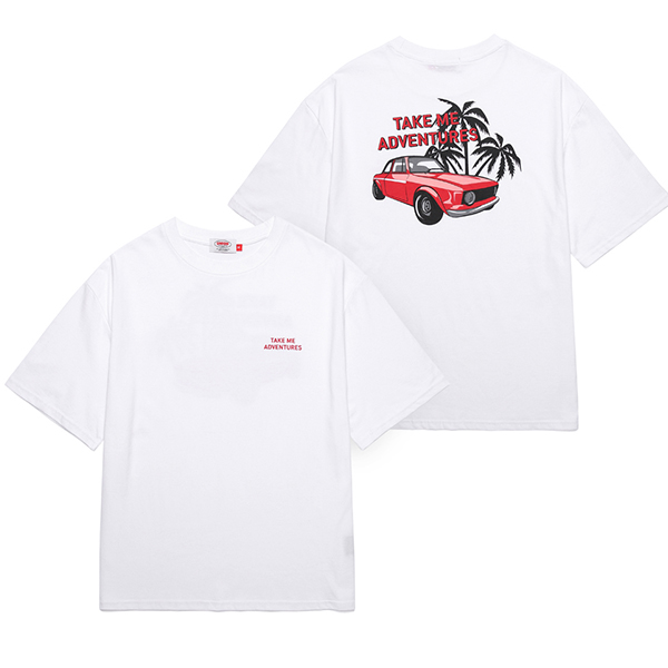 [Unionobjet] Union Adventure T-shirt - White
