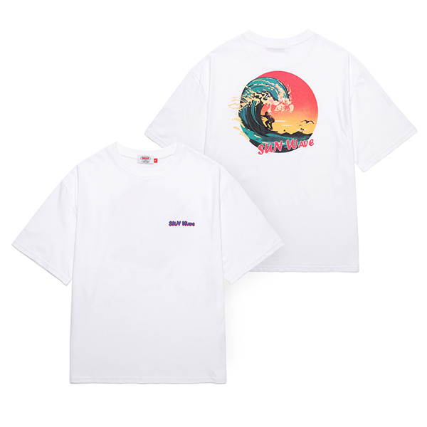 [Unionobjet] Union Sun Wave T-shirt - White