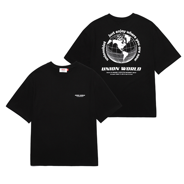 [Unionobjet] Union World T-shirt - Black
