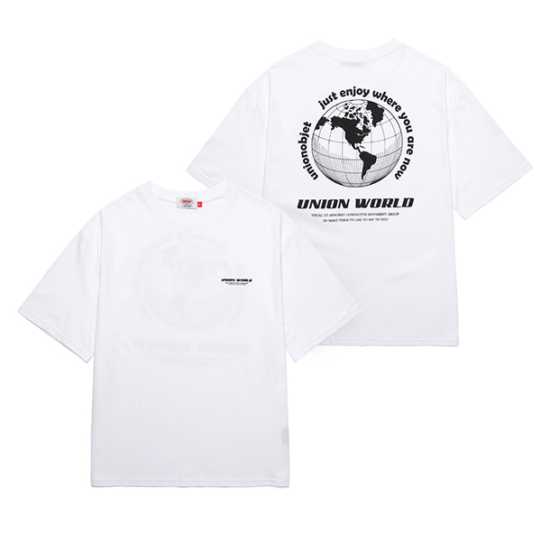 [Unionobjet] Union World T-shirt - White