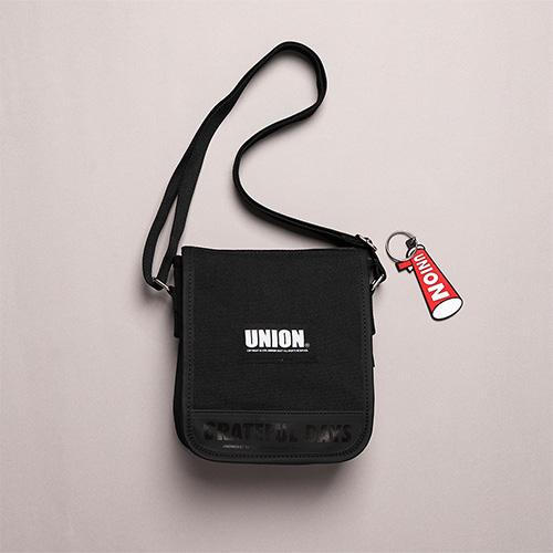 [Unionobjet] UNION COVER CROSS BAG - BLACK