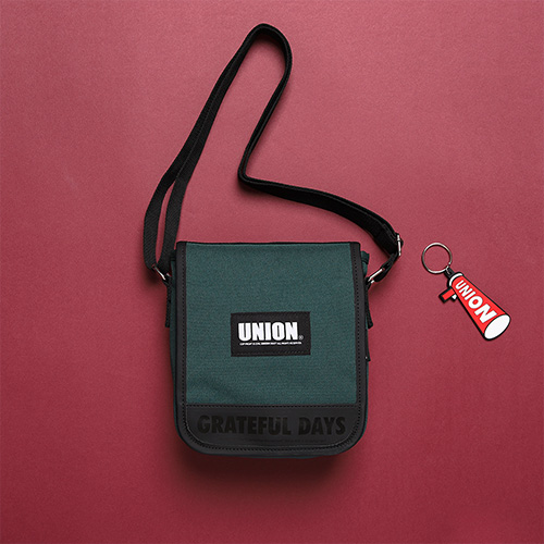 [Unionobjet] UNION COVER CROSS BAG - GREEN
